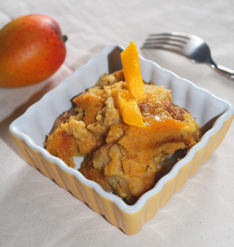 Mango Coconut Bread Pudding | Cupcakes, Cocktails & Kids